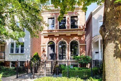 Single Family Home For Sale: 1446 West George Street