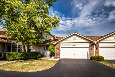 Plainfield Condo/Townhouse For Sale: 21234 Silktree Circle