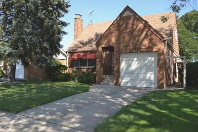 Evergreen Park  Single Family Home For Sale: 9335 South Springfield Avenue