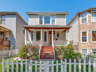 Single Family Home For Sale: 2222 North Central Park Avenue