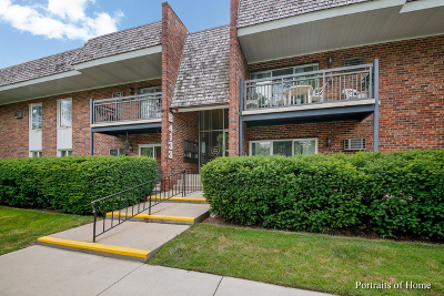 Downers Grove Condo/Townhouse For Sale: 4133 Saratoga Avenue #B-109