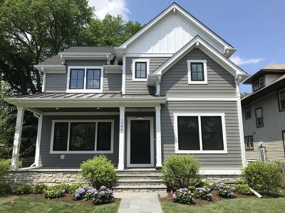 Wilmette Single Family Home For Sale: 1706 Washington Avenue