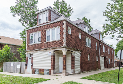 Chicago Multi Family Home For Sale: 8200 South Escanaba Avenue