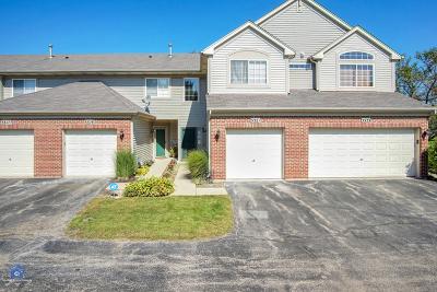 Carpentersville Condo/Townhouse For Sale: 3321 Blue Ridge Drive #3321