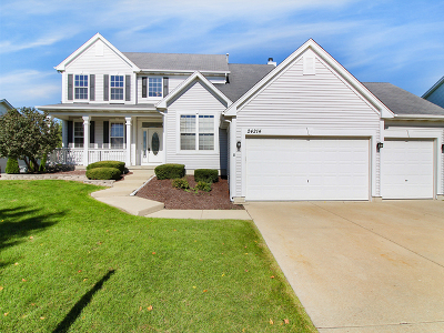 Plainfield Rental For Rent: 24214 Apple Creek Lane