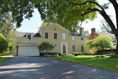Glenview Single Family Home For Sale: 715 Wagner Road