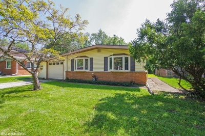 Glenview Single Family Home For Sale: 4631 Lilac Avenue