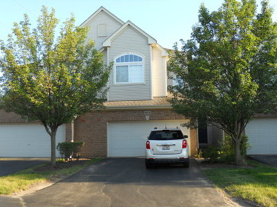 Hoffman Estates Condo/Townhouse For Sale: 6016 Canterbury Lane