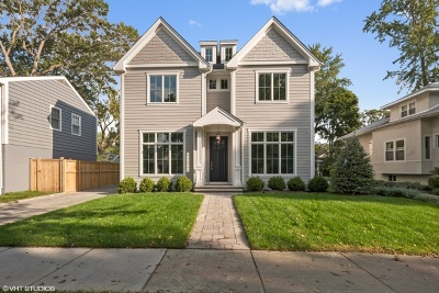 Wilmette Single Family Home For Sale: 414 Gregory Avenue