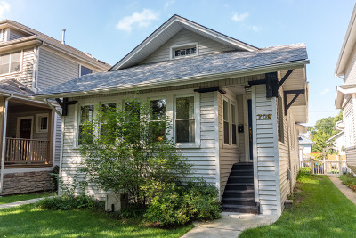 Oak Park Single Family Home New: 709 Hayes Avenue