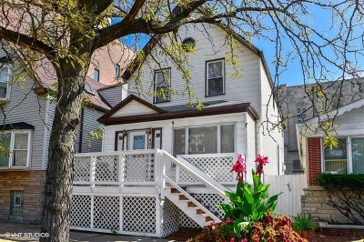 Single Family Home For Sale: 4515 North Western Avenue