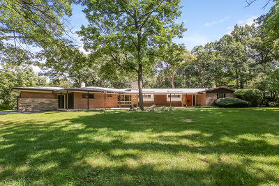 Lake Forest Single Family Home For Sale: 531 East Woodland Road