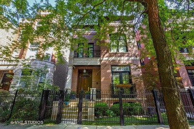 Single Family Home For Sale: 2223 North Bissell Street