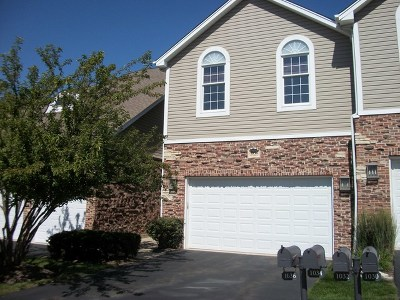 Palatine Condo/Townhouse For Sale: 1034 West Bogey Lane