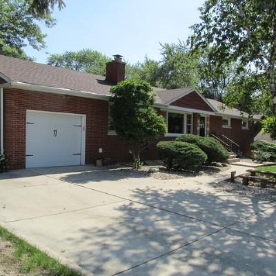Tinley Park Single Family Home For Sale: 16531 Ridgeland Avenue