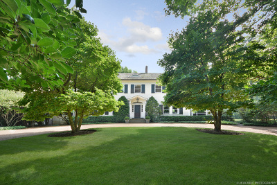 Lake Forest Single Family Home For Sale: 1035 North Sheridan Road