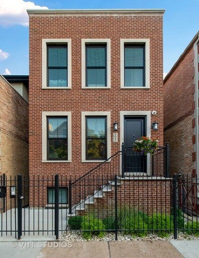 Single Family Home For Sale: 2041 West Homer Street