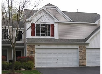 Streamwood Condo/Townhouse For Sale: 205 Locksley Drive