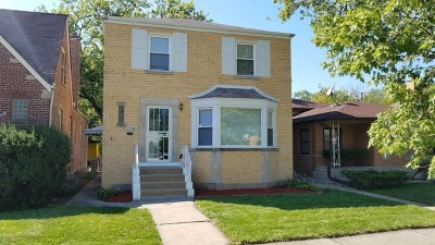 Riverdale Single Family Home New: 14508 South Wallace Avenue