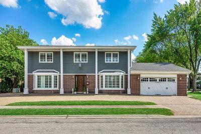 Skokie Single Family Home For Sale: 8825 Lowell Terrace