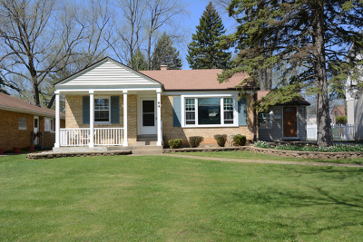 Palatine Single Family Home For Sale: 44 South Ashland Avenue