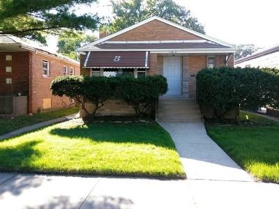 Single Family Home New: 13814 South School Street