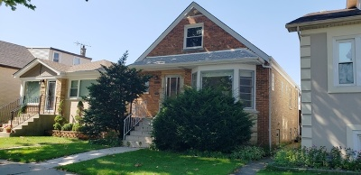 Chicago Single Family Home Contingent: 4942 North Moody Avenue
