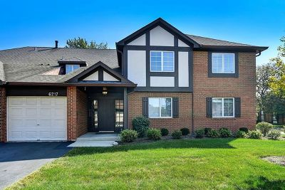 Willowbrook Condo/Townhouse For Sale: 6217 Canterbury Lane #C