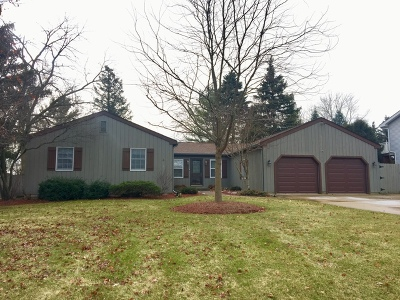 McHenry Single Family Home For Sale: 3403 West Fairway Drive
