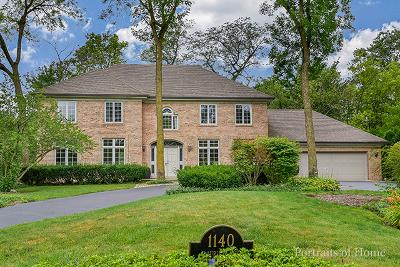 Burr Ridge Single Family Home For Sale: 1140 Laurie Lane
