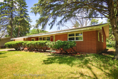 McHenry Single Family Home For Sale: 110 Navajo Trail