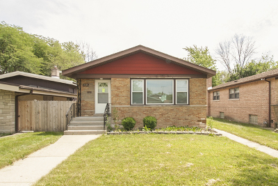 Dolton  Single Family Home New: 15105 Evers Street