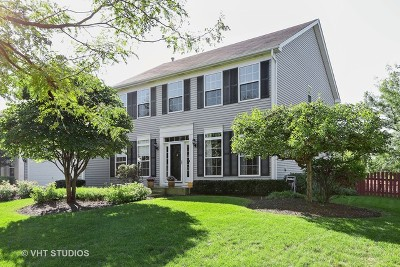 Oswego Single Family Home New: 615 Manhattan Circle