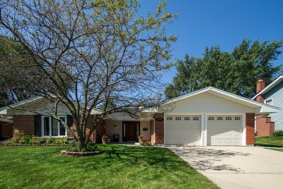 Hoffman Estates Single Family Home For Sale: 2036 Hilltop Road
