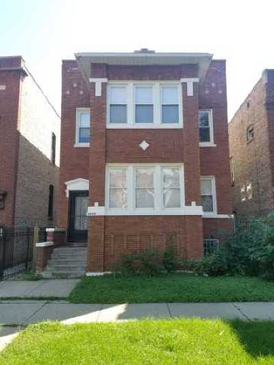 Chicago Multi Family Home Contingent: 5539 West Quincy Street