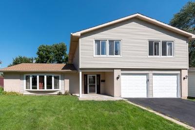 Hanover Park Single Family Home For Sale: 1533 Ramblewood Drive