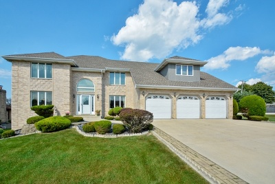 Orland Park Single Family Home New: 8200 138th Place