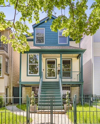 Single Family Home For Sale: 2648 North Racine Avenue