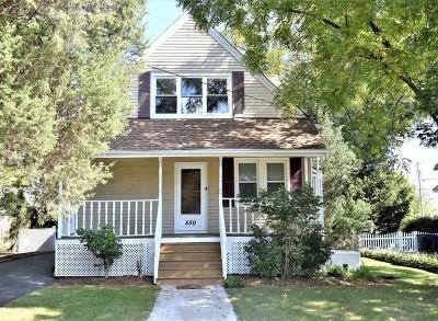 Glen Ellyn Single Family Home New: 550 Saint Charles Road