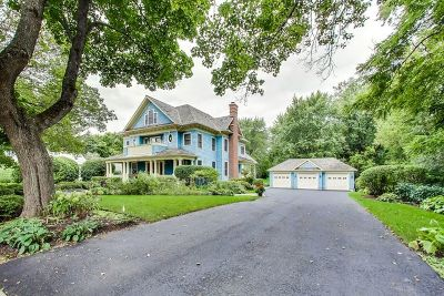 Libertyville IL Single Family Home New: $1,350,000