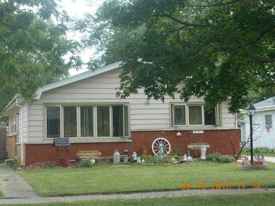 Oak Lawn  Single Family Home New: 8741 South 55th Court
