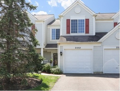 Naperville Condo/Townhouse New: 2552 Carrolwood Road
