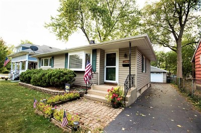 Downers Grove Single Family Home Contingent: 4632 Wilson Avenue