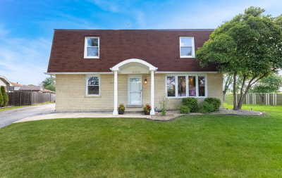 Orland Hills Single Family Home Contingent: 16551 Sharon Court