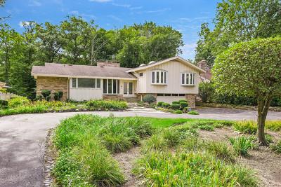 Highland Park Single Family Home For Sale: 100 Ravinoaks Lane