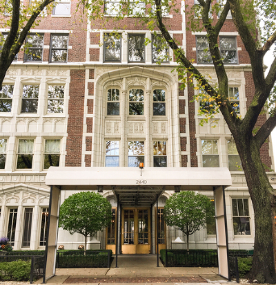 Condo/Townhouse New: 2440 North Lakeview Avenue #2D