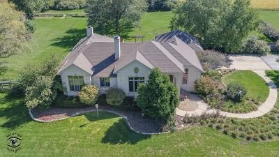 Manhattan Single Family Home For Sale: 24235 South Kankakee Street