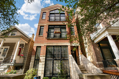 Chicago Condo/Townhouse Re-Activated: 2418 North Southport Avenue #2