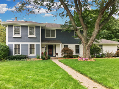 Libertyville Single Family Home Price Change: 714 Sedgwick Drive