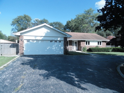 Tinley Park Single Family Home New: 17615 Ridgeland Avenue